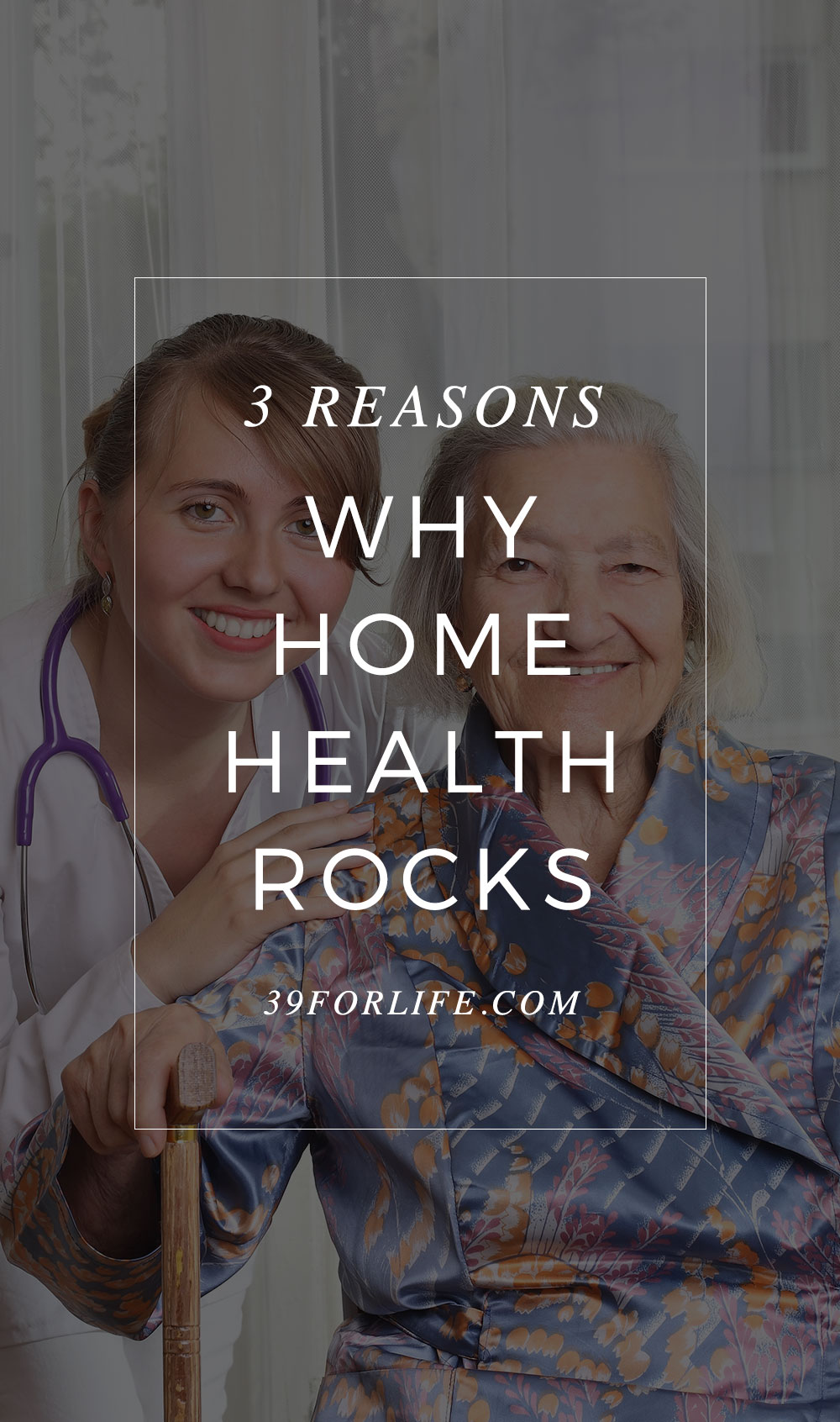 Today, seniors and their families have many options for good healthcare. Here are three reasons why you should consider home health care for your loved one.