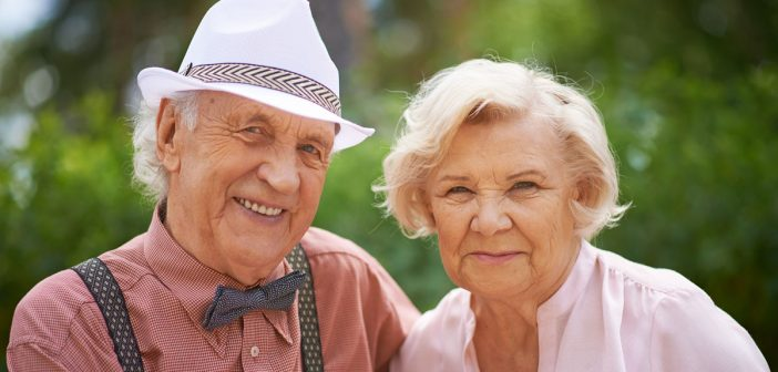 elderly couple social media image