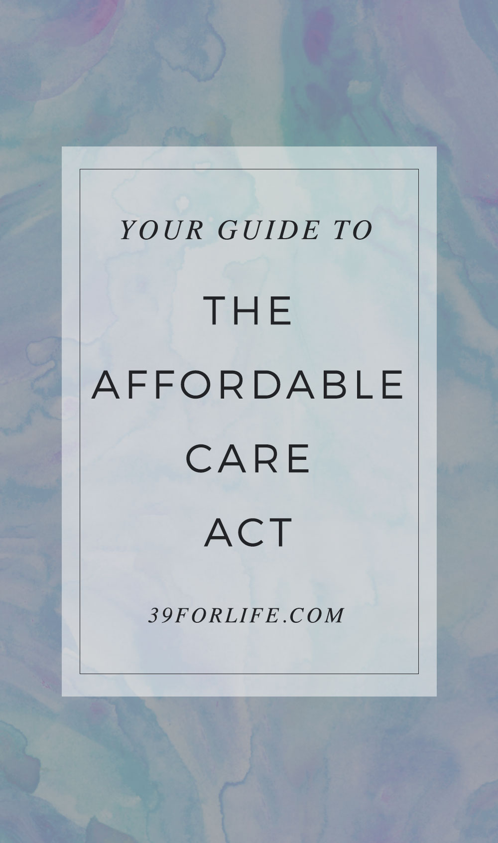 Don't be confused by the affordable care act or Obamacare. Here are the benefits you'll get and how to make sure you're getting the best benefits possible.