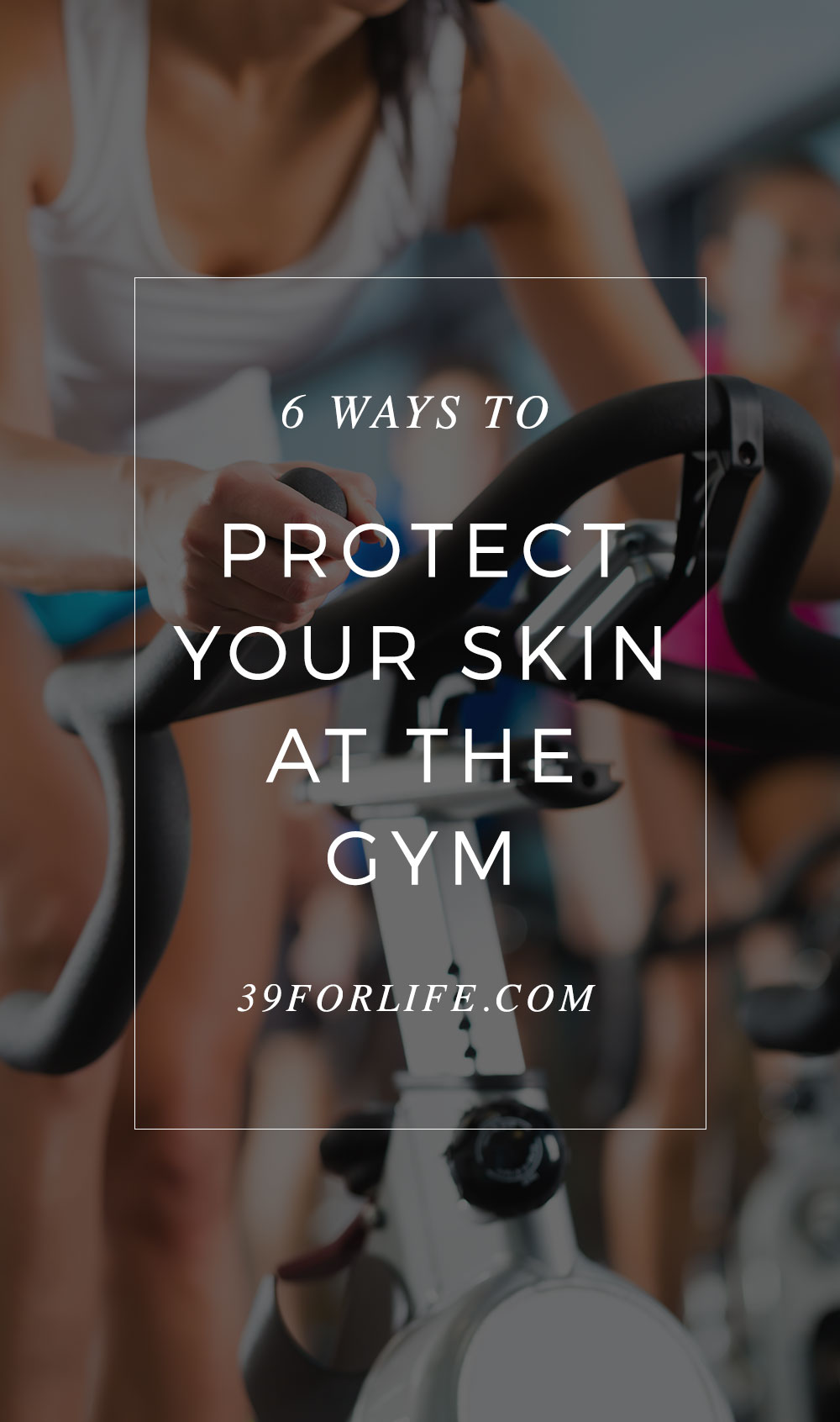 Wiping down your equipment isn't enough to prevent skin conditions that linger on the machines. Here's how to protect your skin before and after a workout.