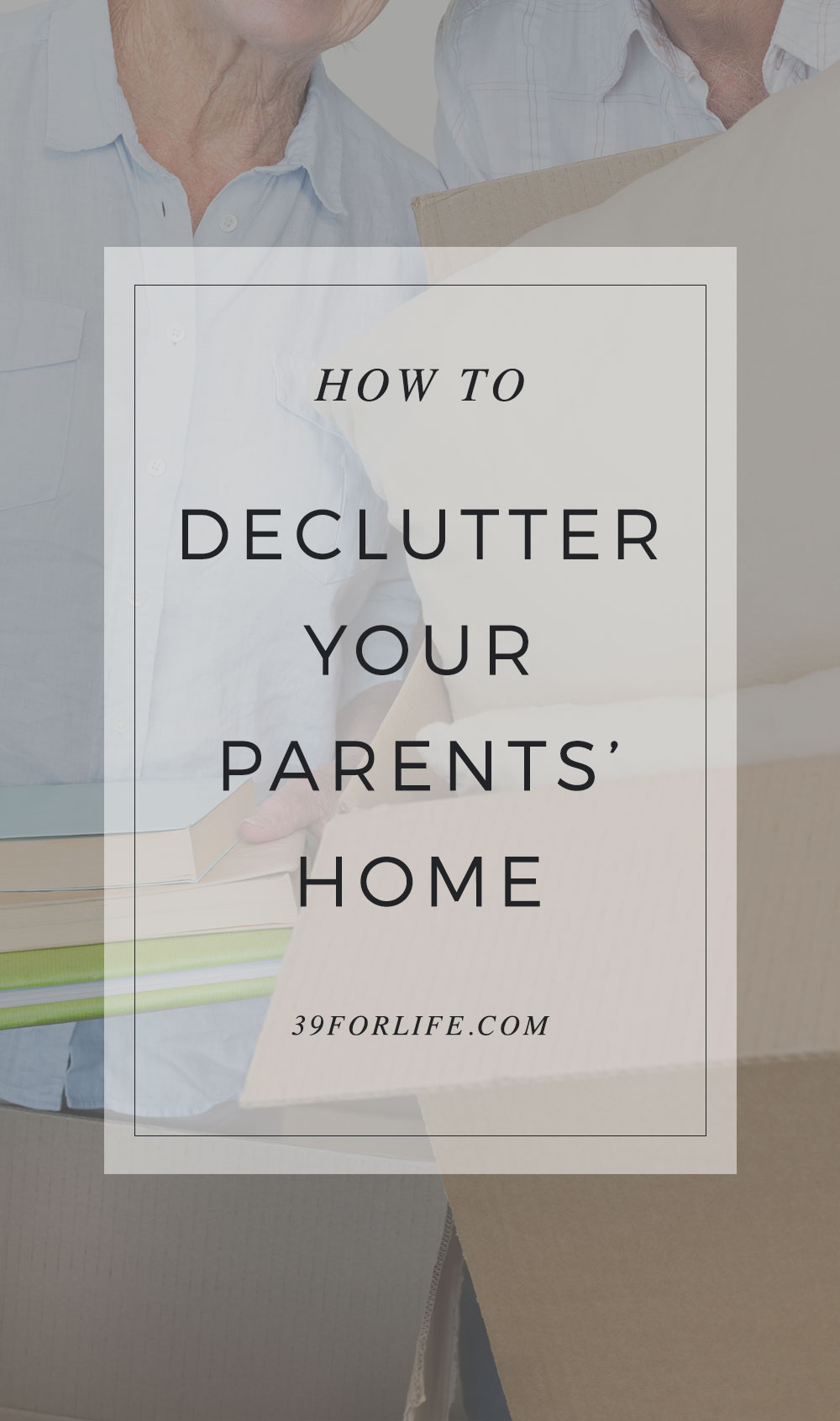 Here are some tips to declutter your parents' home and help your older loved ones lessen their belongings so that they can remain safe and happy in their living space.