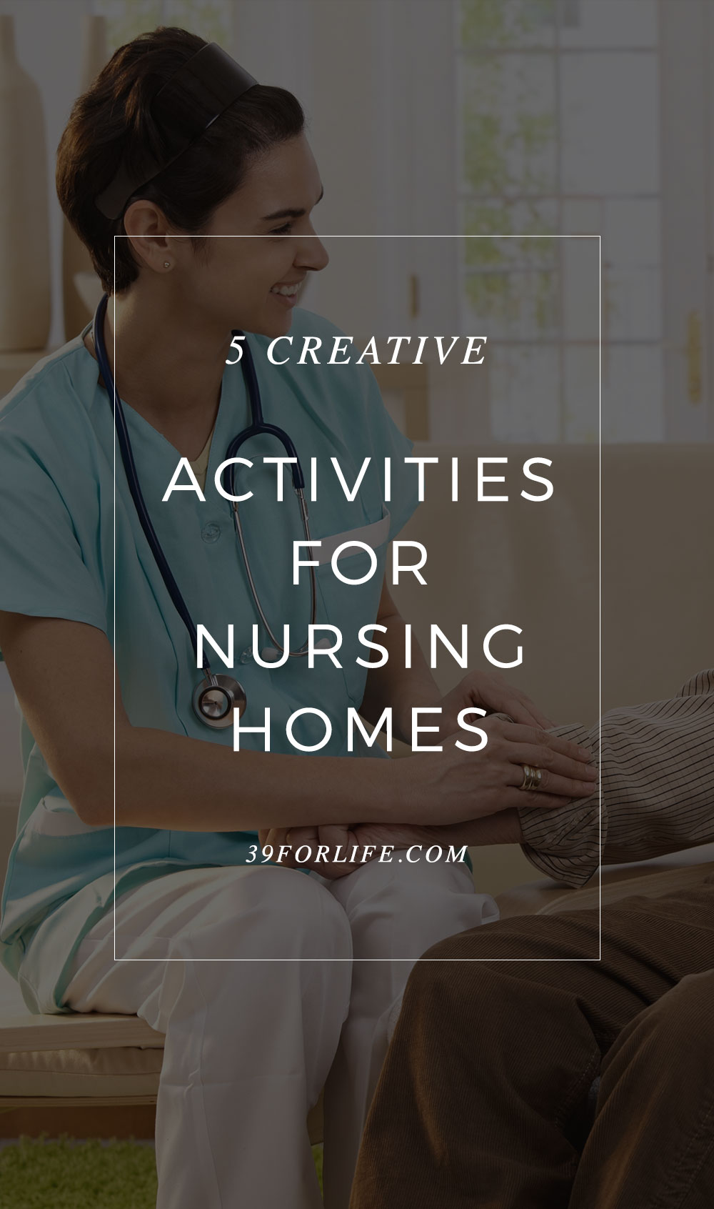 Make spending time with your aging parent or grandparent special with these five creative activities you can do together in a nursing home.
