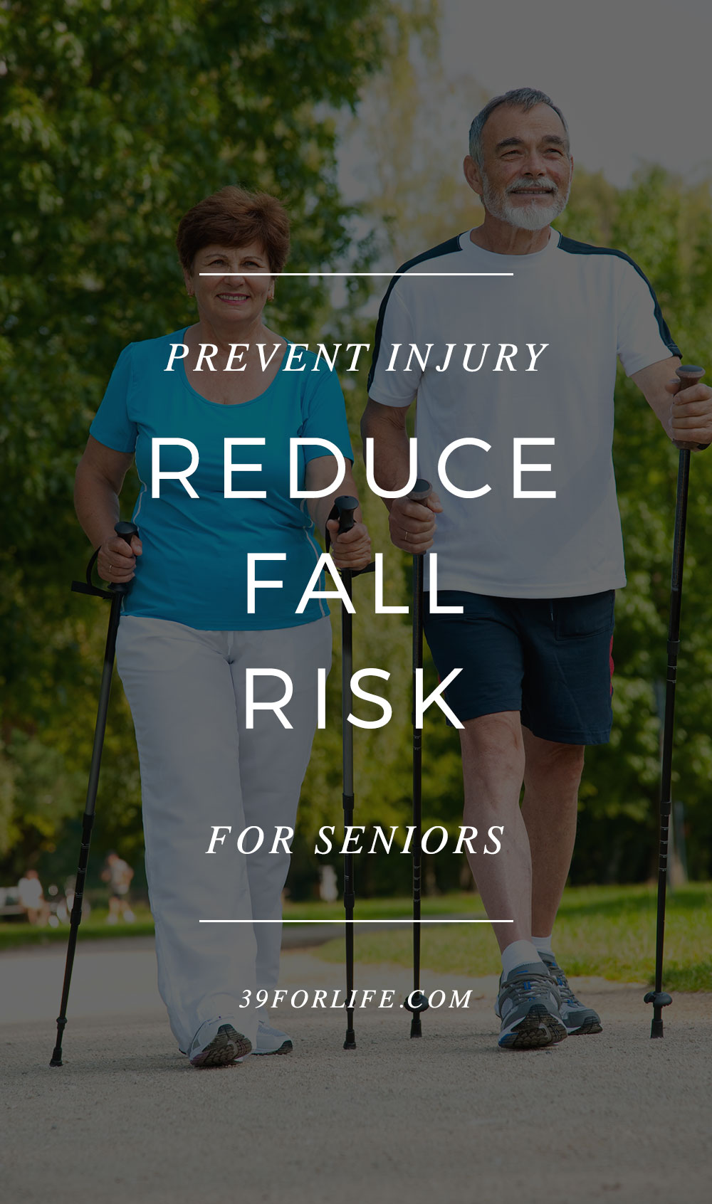 Do you know the major causes of injury and death amongst senior citizens? Falls account for 2.5 injuries per year. Here is how to prevent them.