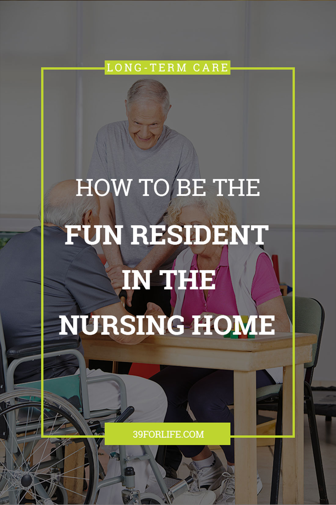 Make quick friends in the nursing home with these tips. Some of the best friends my mom made were during her time in rehab!