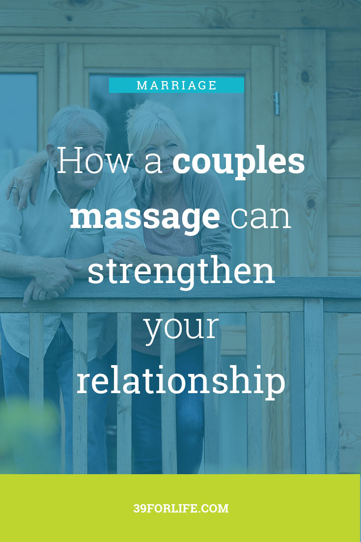 Never underestimate the power of touch in strengthening a relationship. This article explores the benefit couples massage adds to any relationship.