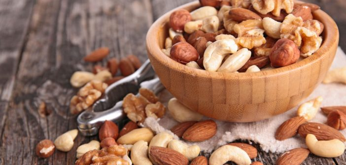 different kinds of nuts